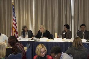 Urban Schools Luncheon panelists