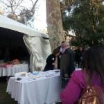 ACSA/CSBA tent in Capitol Park