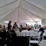 ACSA/CSBA Tent inside
