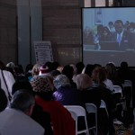 Hundreds followed the meeting by video while waiting to comment.