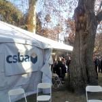 ACSA/CSBA Tent at SBE
