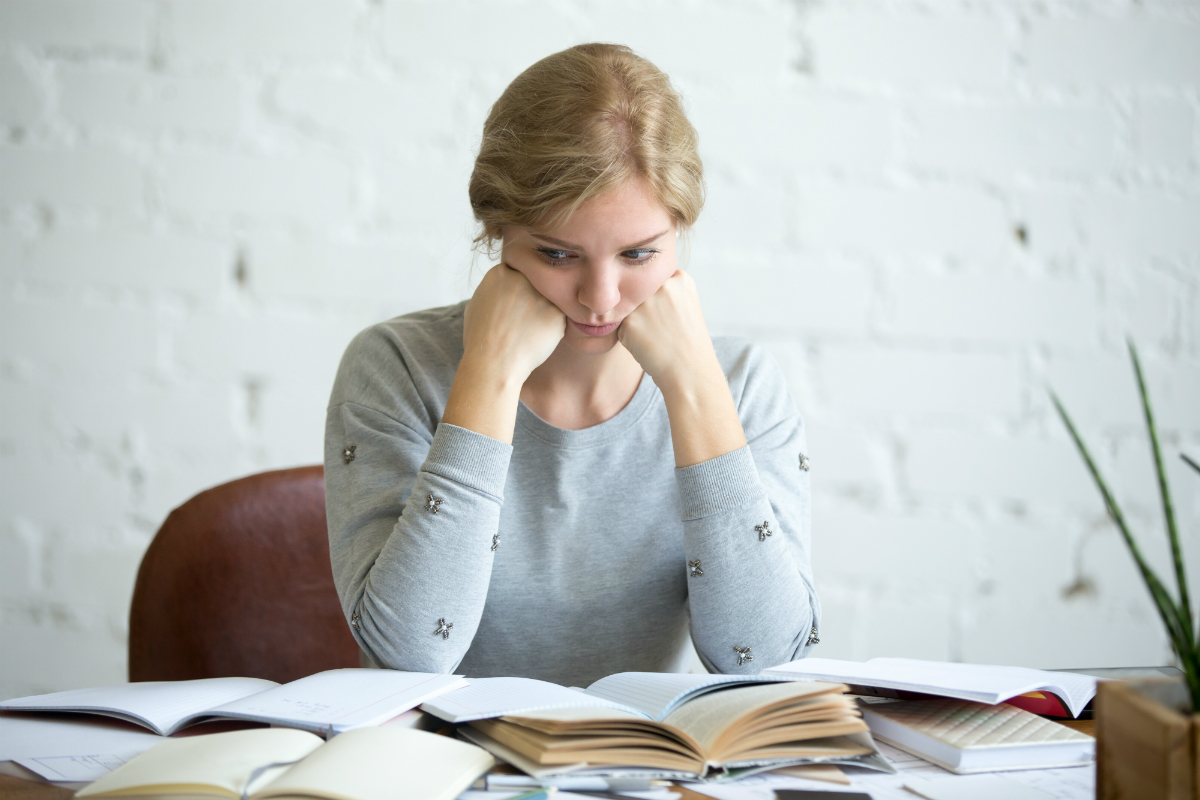 dyslexia - student reading