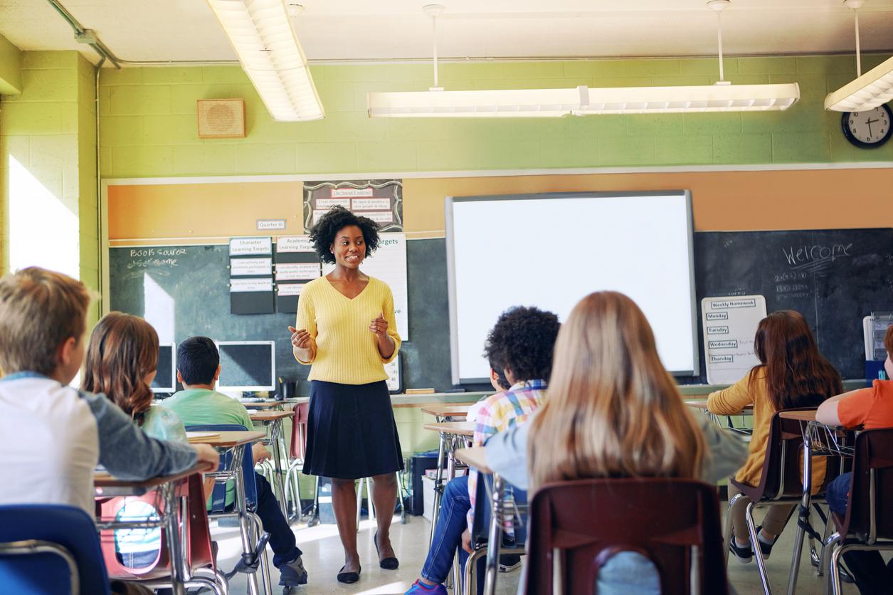 African-American teacher